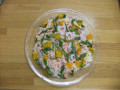 ひなまつり: 小さな子ども向けにアレンジされたちらし寿司