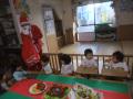 2014年12月クリスマス会: わーい!サンタさんからプレゼント!!