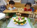 心くん・賢世くん 満1歳 早く・・食べたーい!