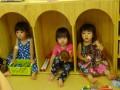 同窓会: 元りす組の3人娘。とってもかわいくなっていました