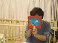 子どもの日にちなんで、ミニシアターで「児童憲章」を読み上げました。
