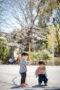 お天気で桜も満開!とってもいい日!