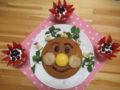 アンパンマンケーキでお祝いするよ!