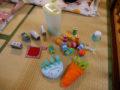 他にも手作りおもちゃがいっぱいの保育室です!