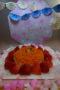 うさぎ組 にんじん・しらす・青のりのひし餅風ご飯ケーキ